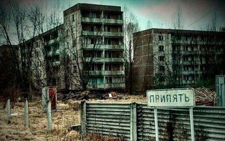 Город-призрак в Чернобыле фото